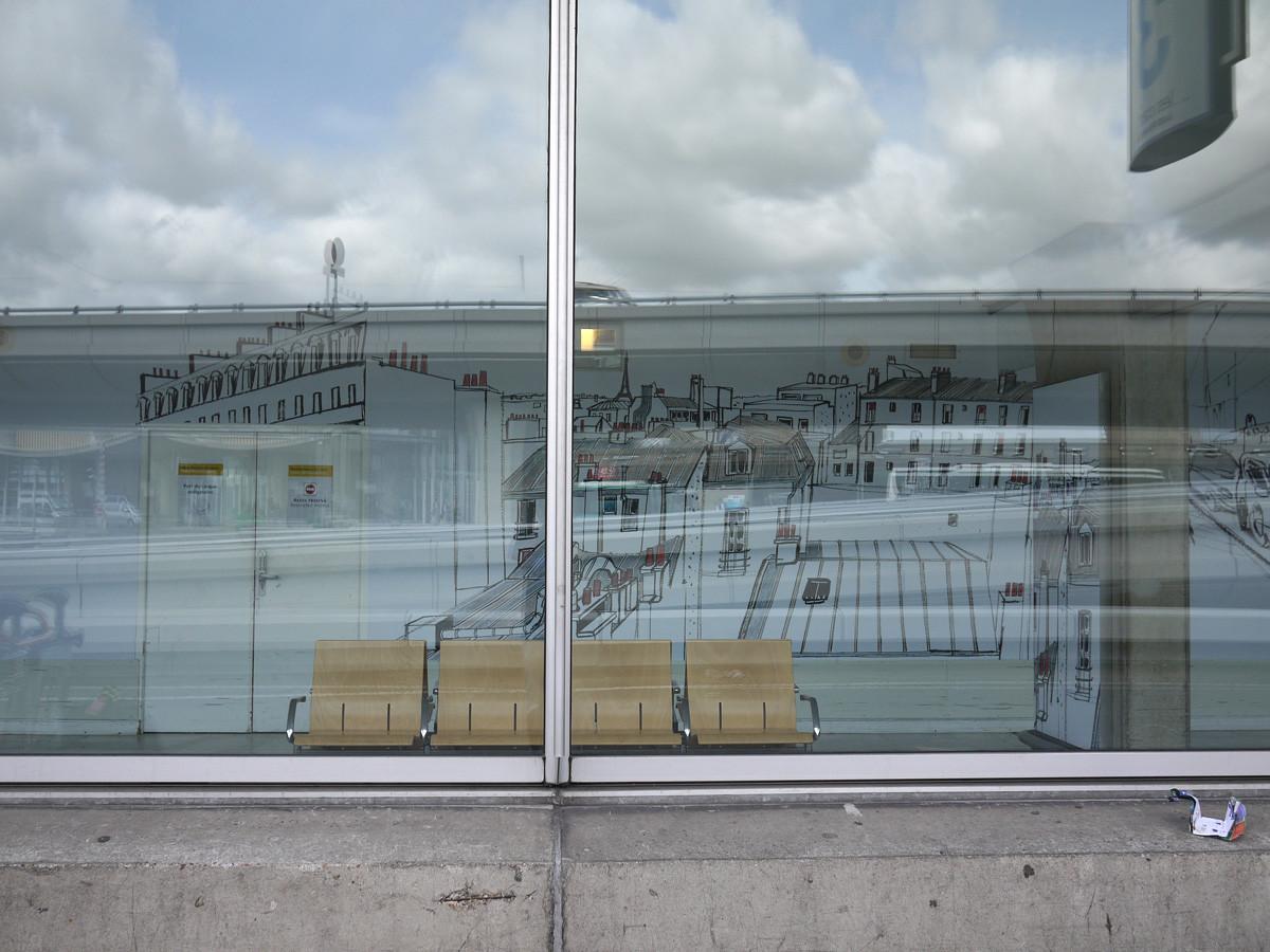 "Filipe Jardim / Commercial Work / Charles De Gaulle Airport Mural<span class=""slide_numbers""><span class=""slide_number"">1</span>/7</span>"