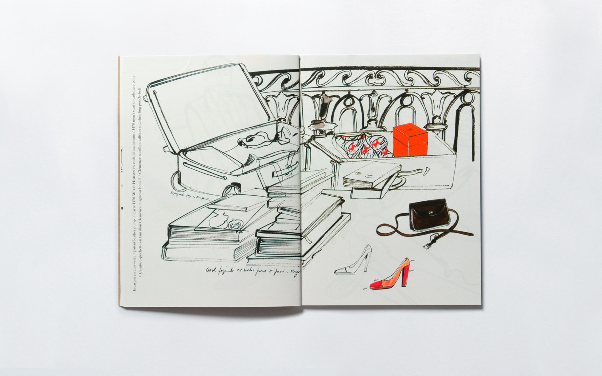 "Filipe Jardim / Fashion Illustration / Hermès Objects<span class=""slide_numbers""><span class=""slide_number"">3</span>/5</span>"