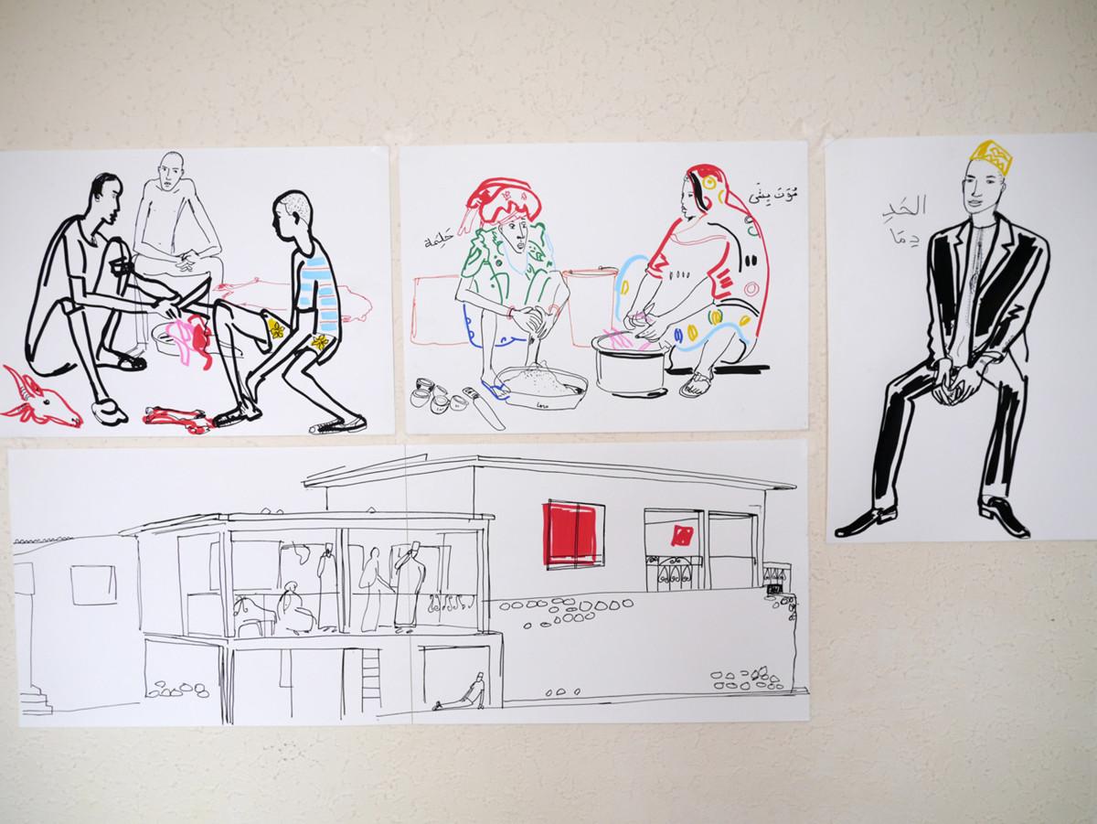 """Filipe Jardim / Travel Illustration / Air France<span class=""""slide_numbers""""><span class=""""slide_number"""">7</span>/9</span>"""