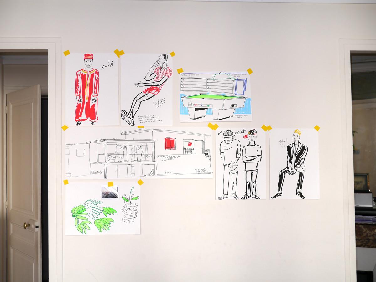 """Filipe Jardim / Travel Illustration / Air France<span class=""""slide_numbers""""><span class=""""slide_number"""">8</span>/9</span>"""