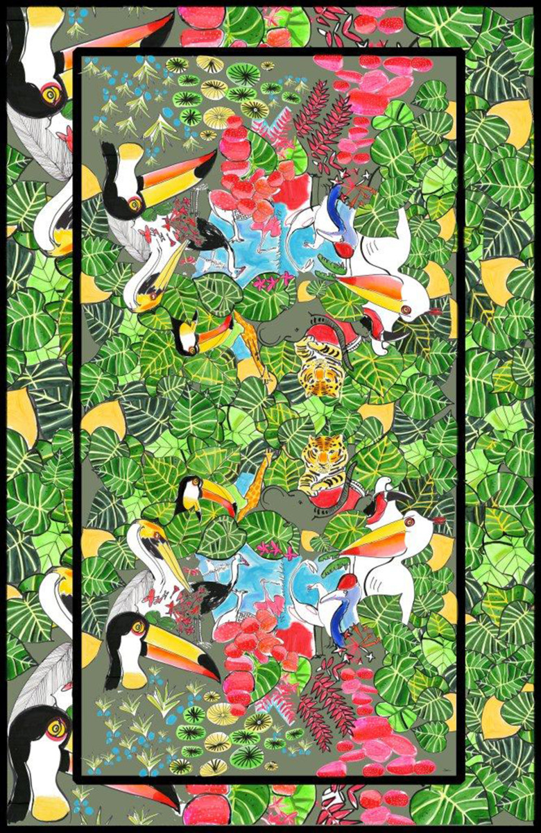 "Filipe Jardim / Fashion Illustration / Issa London Collections<span class=""slide_numbers""><span class=""slide_number"">13</span>/15</span>"