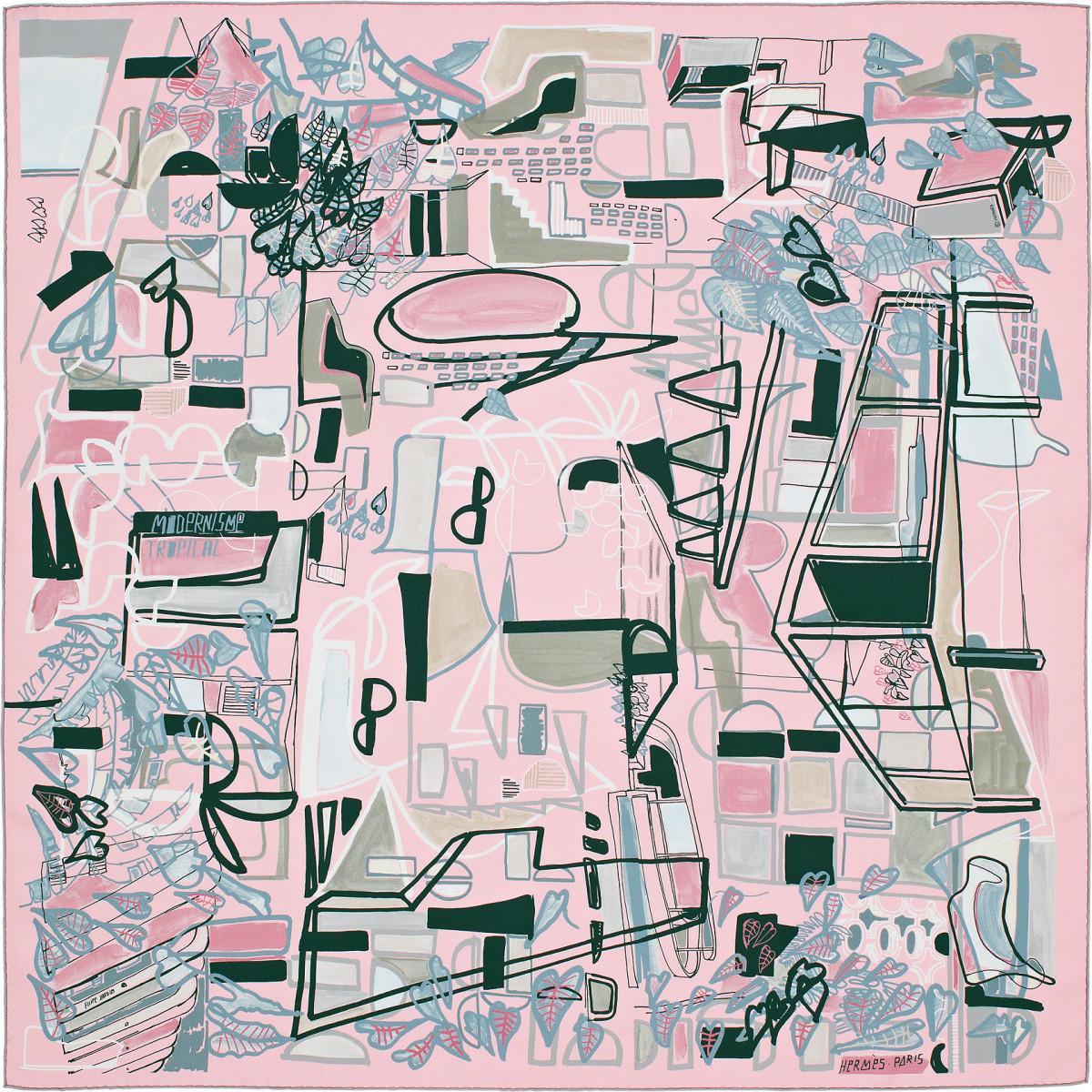 "Filipe Jardim / Commercial Work / Hermès Modernisme Tropical<span class=""slide_numbers""><span class=""slide_number"">15</span>/17</span>"