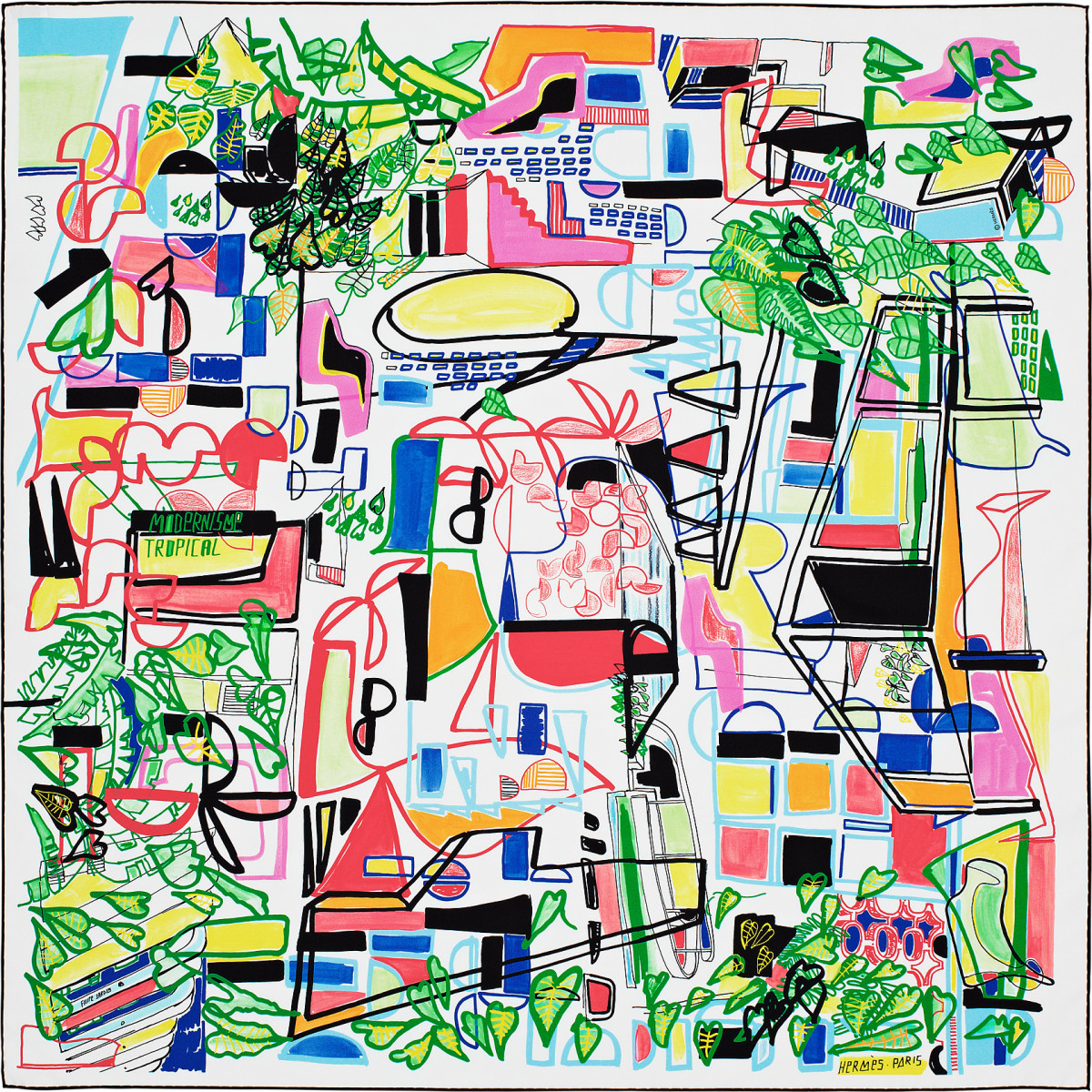 "Filipe Jardim / Commercial Work / Hermès Modernisme Tropical<span class=""slide_numbers""><span class=""slide_number"">13</span>/17</span>"