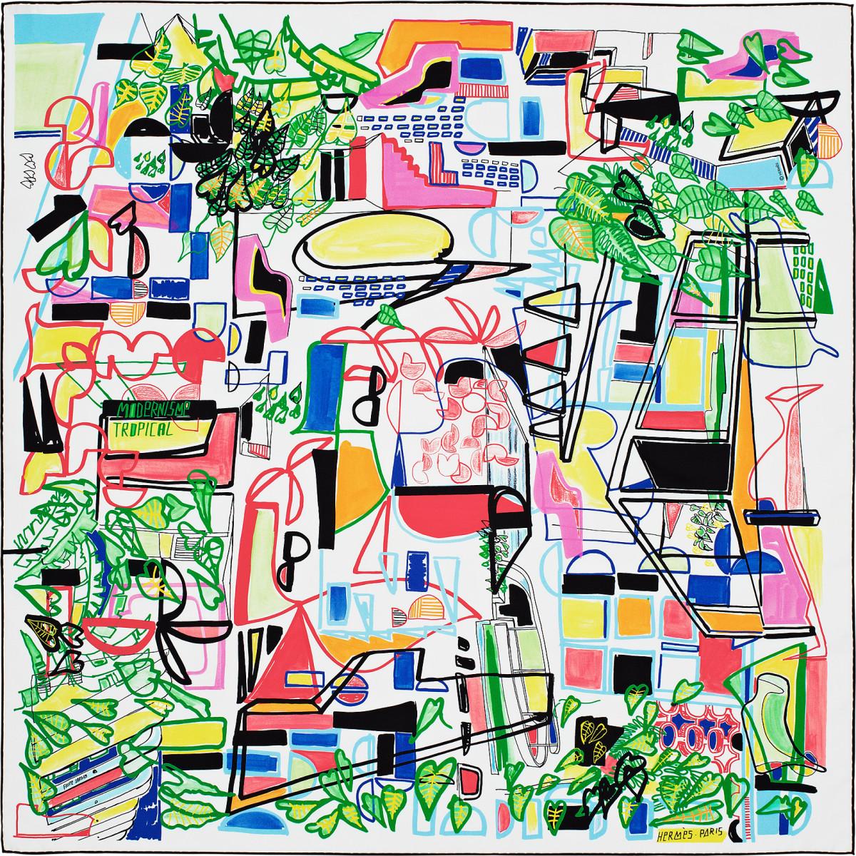 "Filipe Jardim / Commercial Work / Hermès Modernisme Tropical<span class=""slide_numbers""><span class=""slide_number"">13</span>/17</span>"