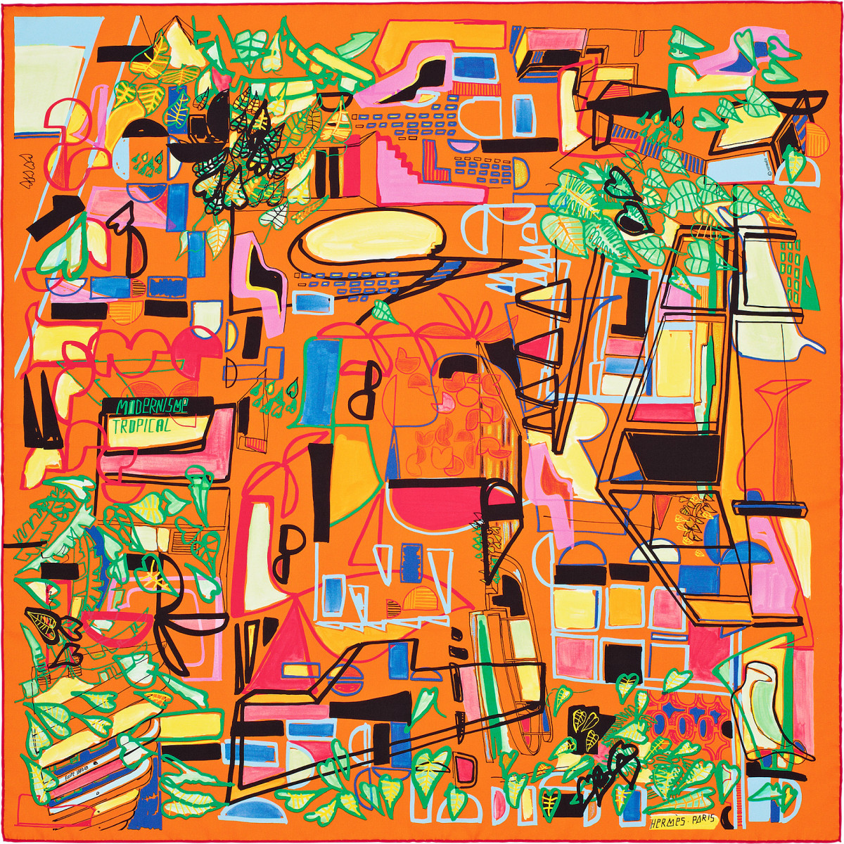 "Filipe Jardim / Commercial Work / Hermès Modernisme Tropical<span class=""slide_numbers""><span class=""slide_number"">4</span>/17</span>"