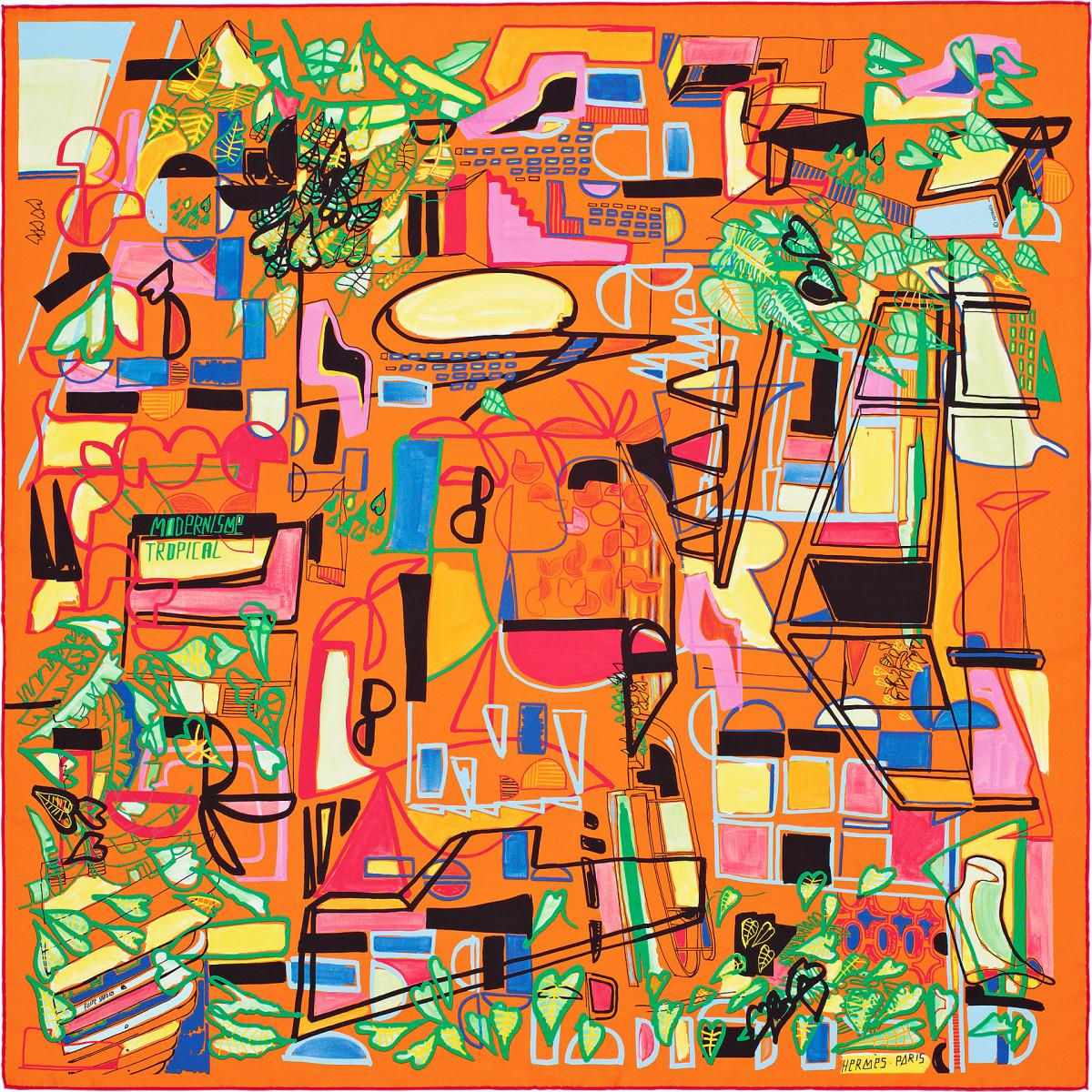 "Filipe Jardim / Commercial Work / Hermès Modernisme Tropical<span class=""slide_numbers""><span class=""slide_number"">4</span>/17</span>"