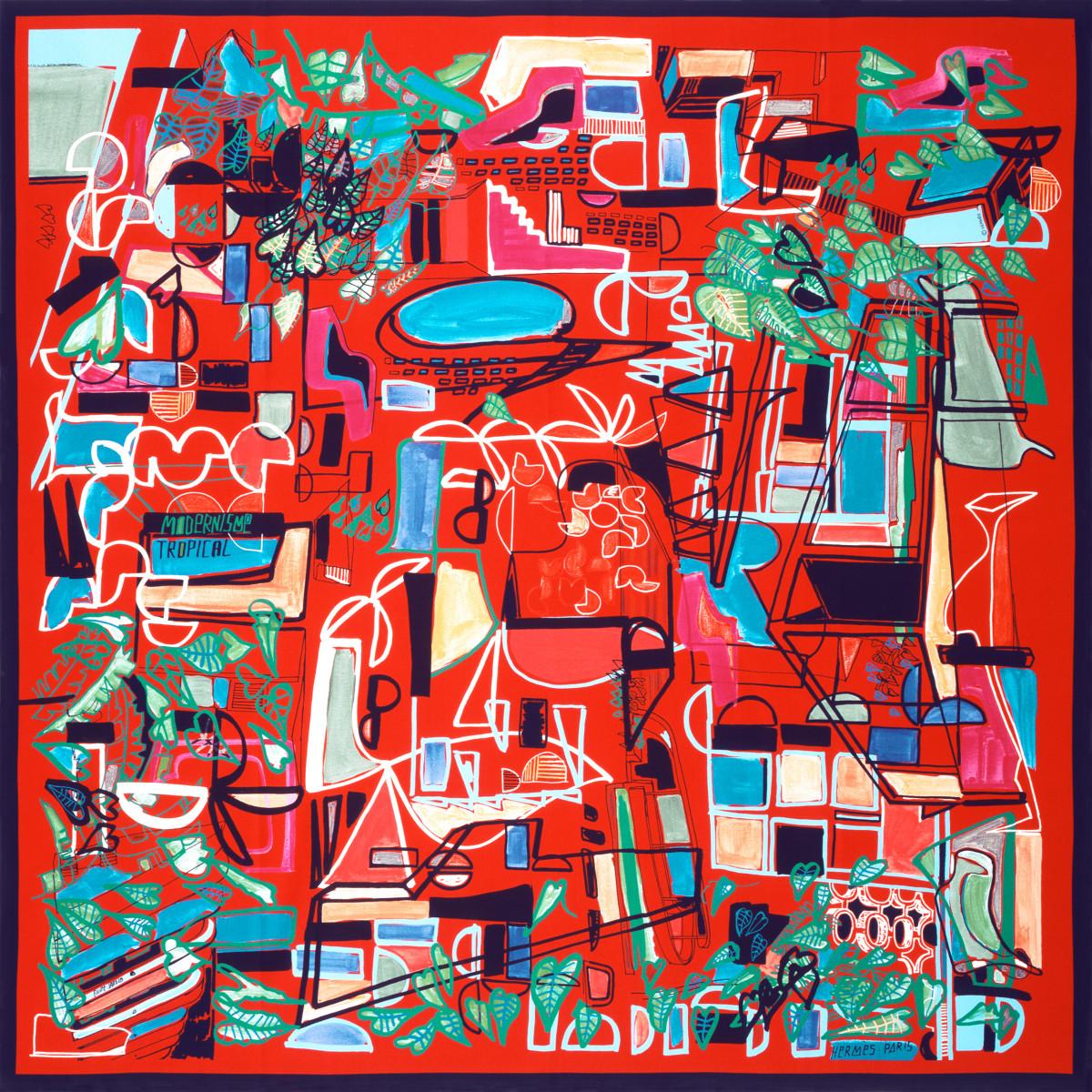 "Filipe Jardim / Commercial Work / Hermès Modernisme Tropical<span class=""slide_numbers""><span class=""slide_number"">2</span>/17</span>"