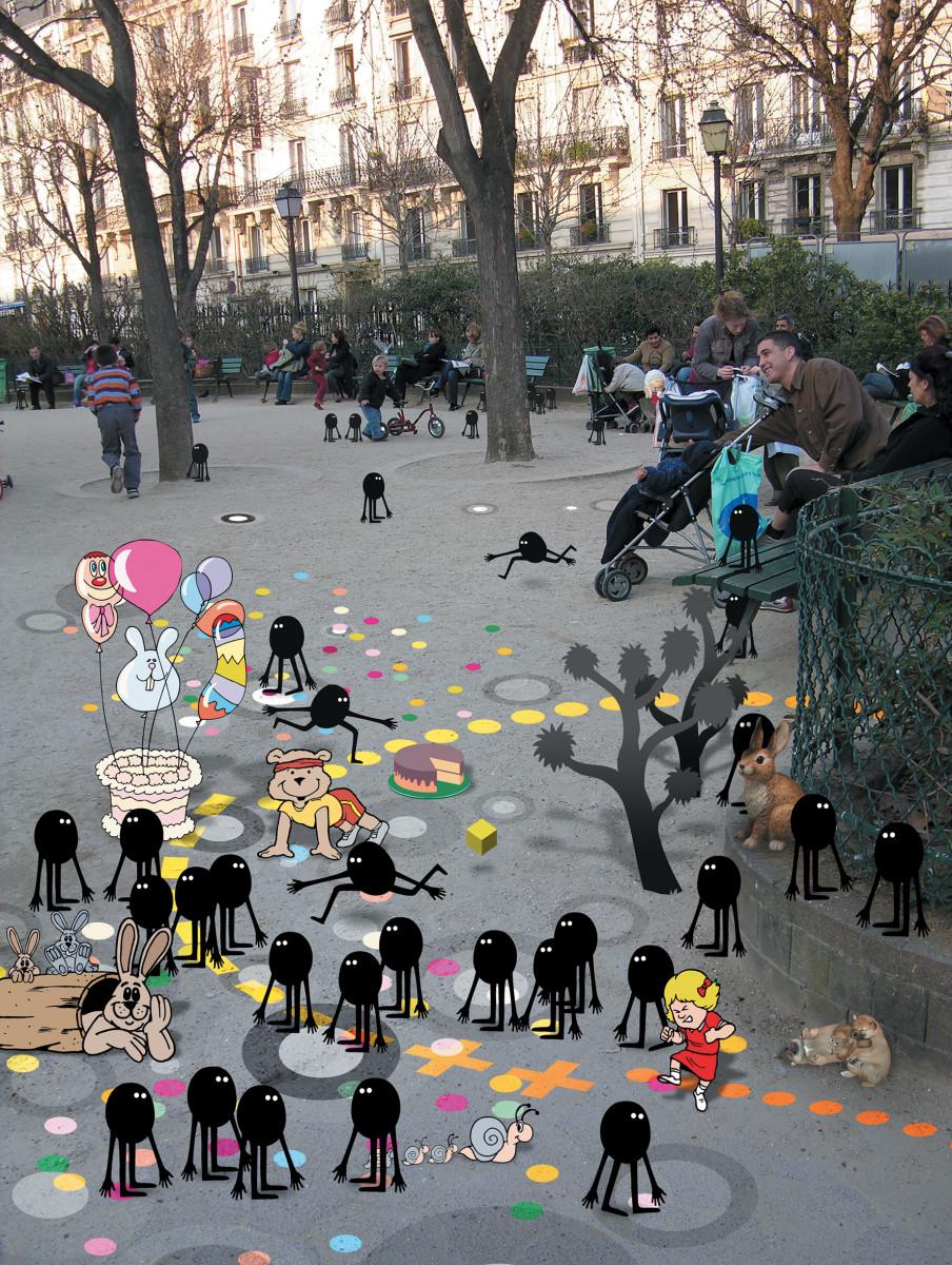 "Geneviève Gauckler / Personal Work / Invasion<span class=""slide_numbers""><span class=""slide_number"">23</span>/24</span>"