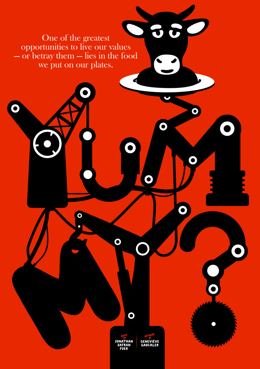 "Geneviève Gauckler / Personal Work / Veggie Poster<span class=""slide_numbers""><span class=""slide_number"">11</span>/11</span>"