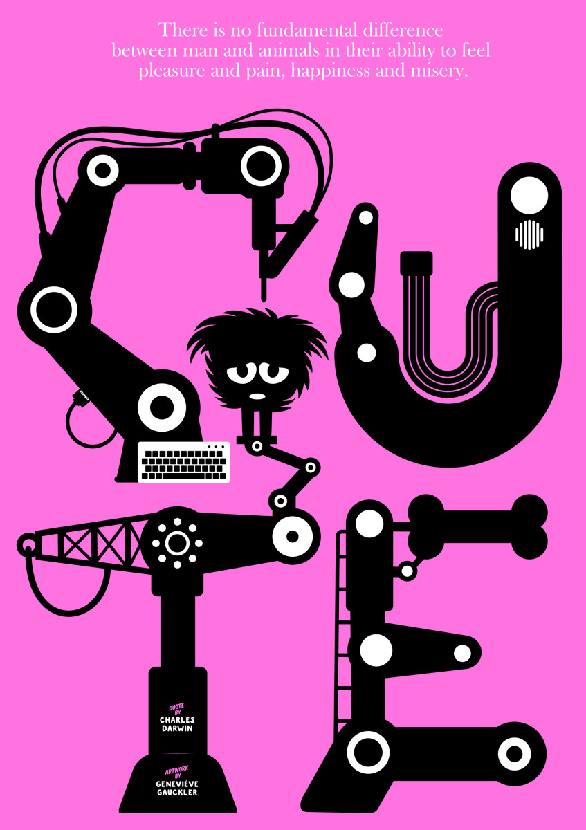"Geneviève Gauckler / Personal Work / Veggie Poster<span class=""slide_numbers""><span class=""slide_number"">10</span>/11</span>"