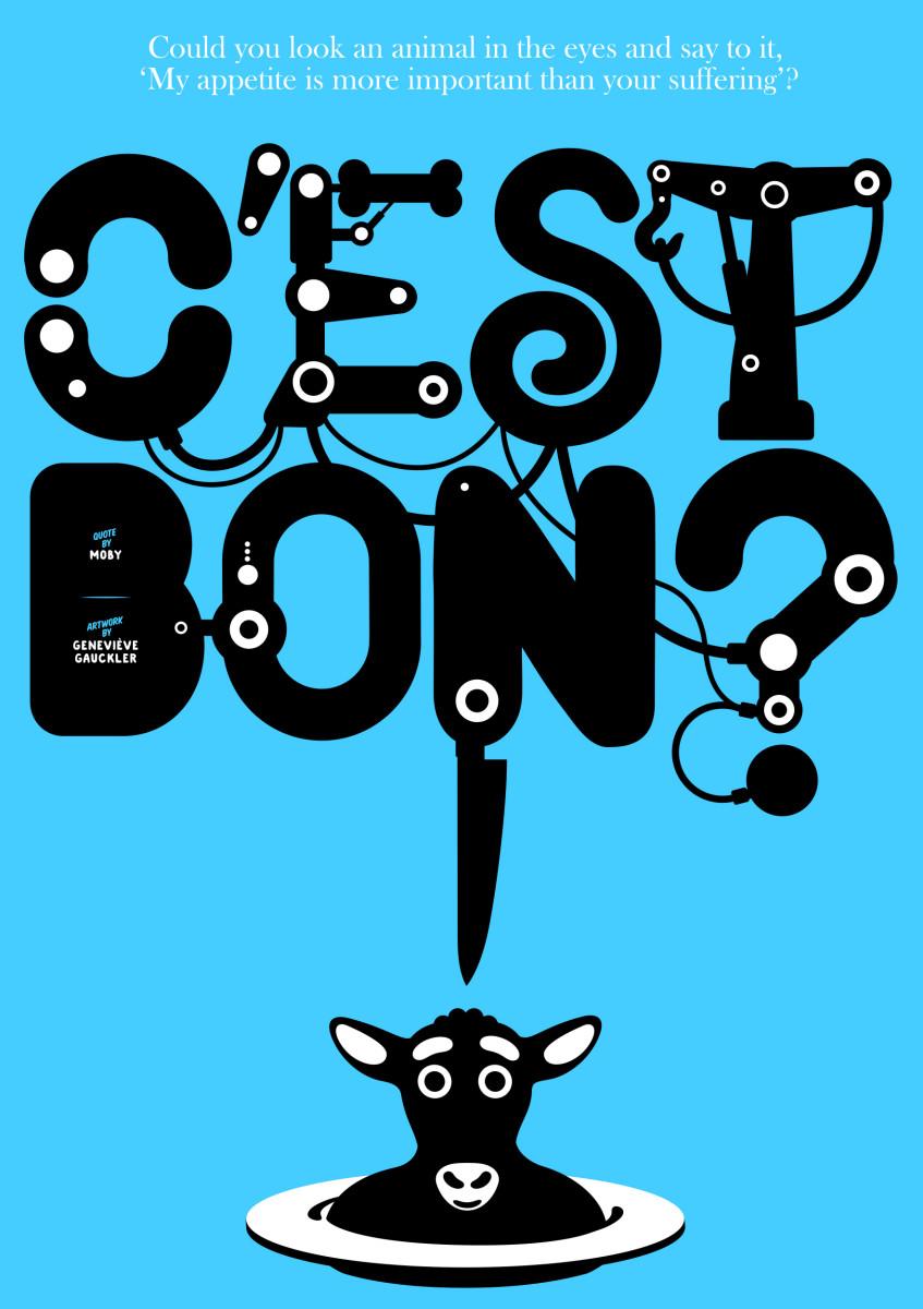 "Geneviève Gauckler / Personal Work / Veggie Poster<span class=""slide_numbers""><span class=""slide_number"">7</span>/11</span>"