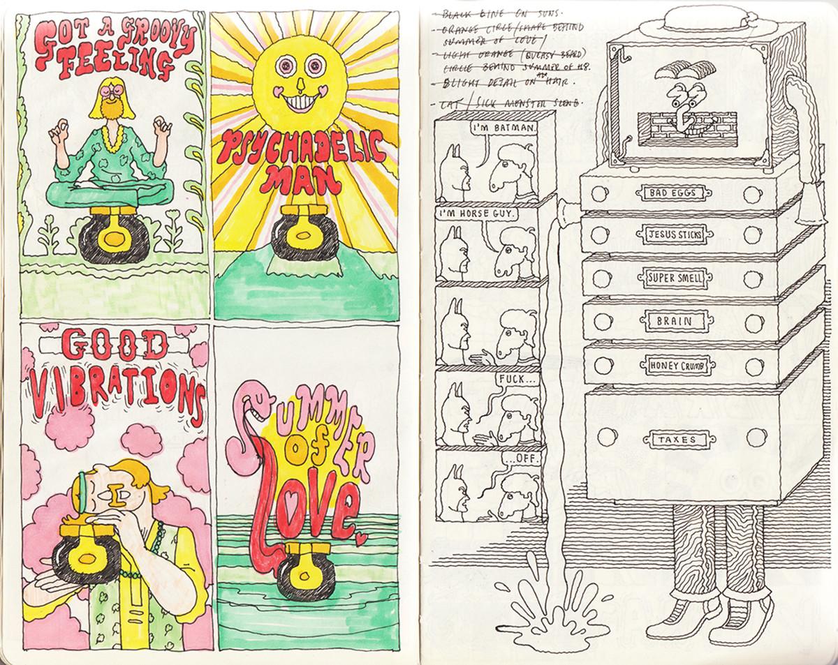 "Jim Stoten / Personal Work / Sketchbook 1<span class=""slide_numbers""><span class=""slide_number"">15</span>/19</span>"