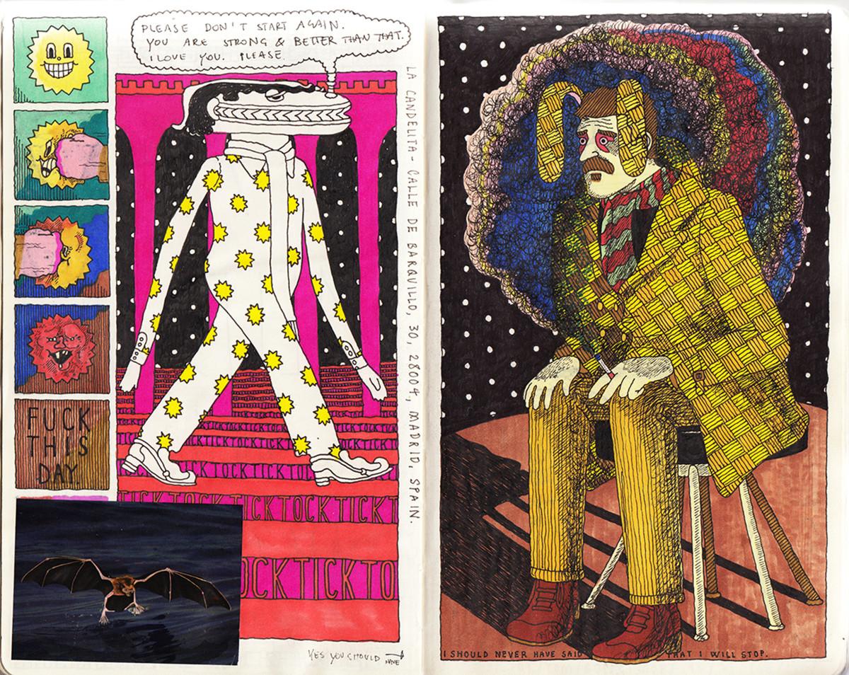 "Jim Stoten / Personal Work / Sketchbook 1<span class=""slide_numbers""><span class=""slide_number"">12</span>/19</span>"