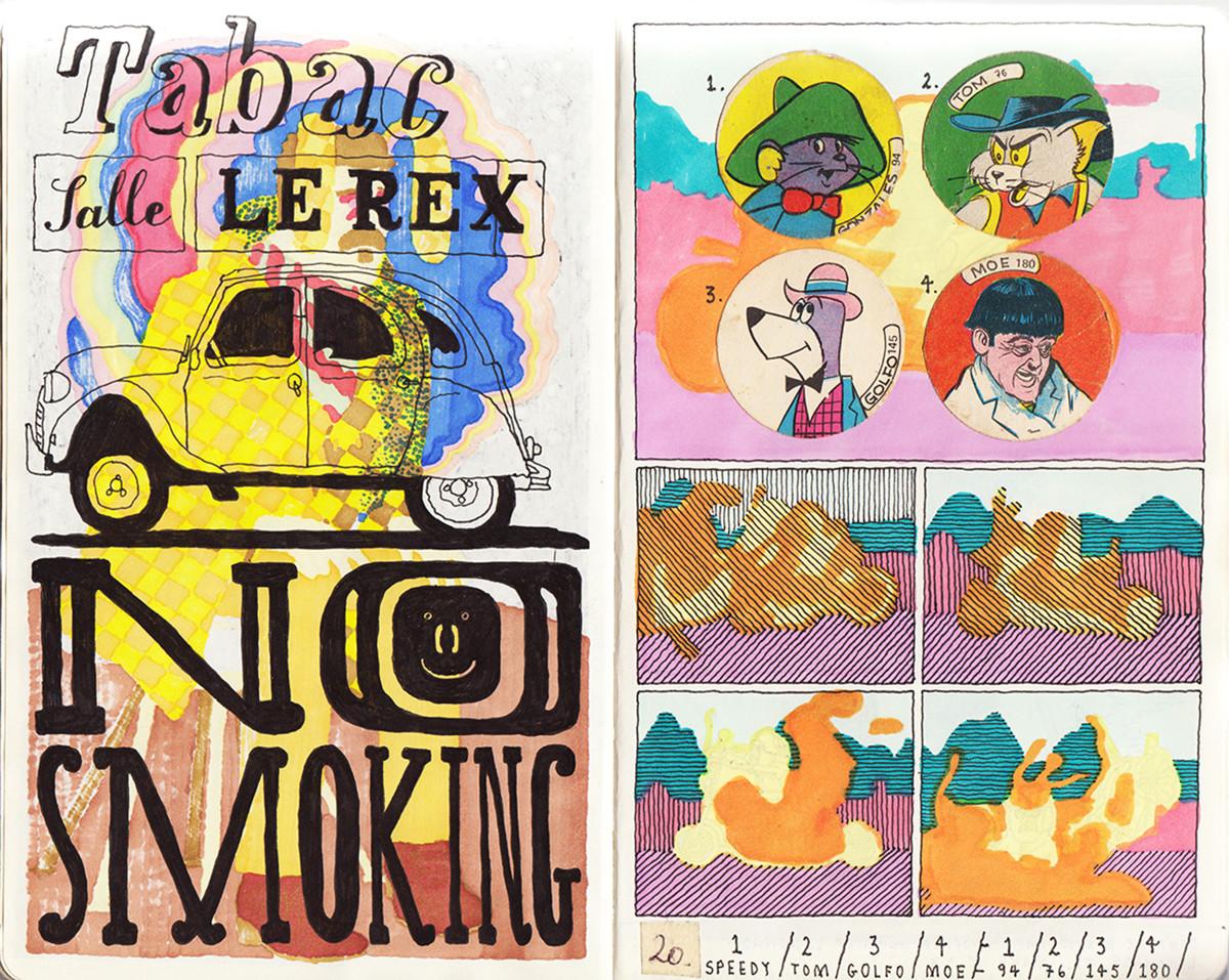 "Jim Stoten / Personal Work / Sketchbook 1<span class=""slide_numbers""><span class=""slide_number"">1</span>/19</span>"