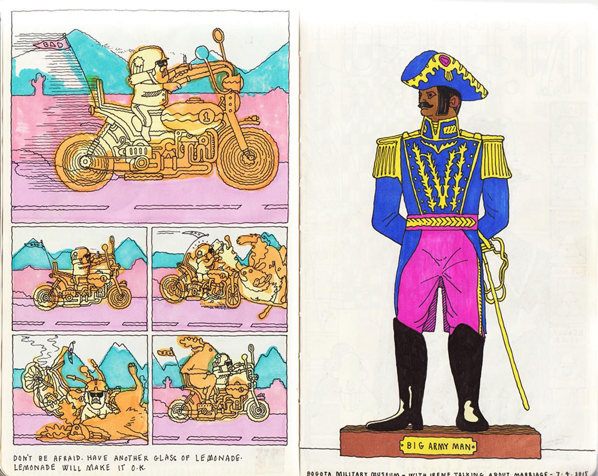 "Jim Stoten / Personal Work / Sketchbook 1<span class=""slide_numbers""><span class=""slide_number"">11</span>/19</span>"