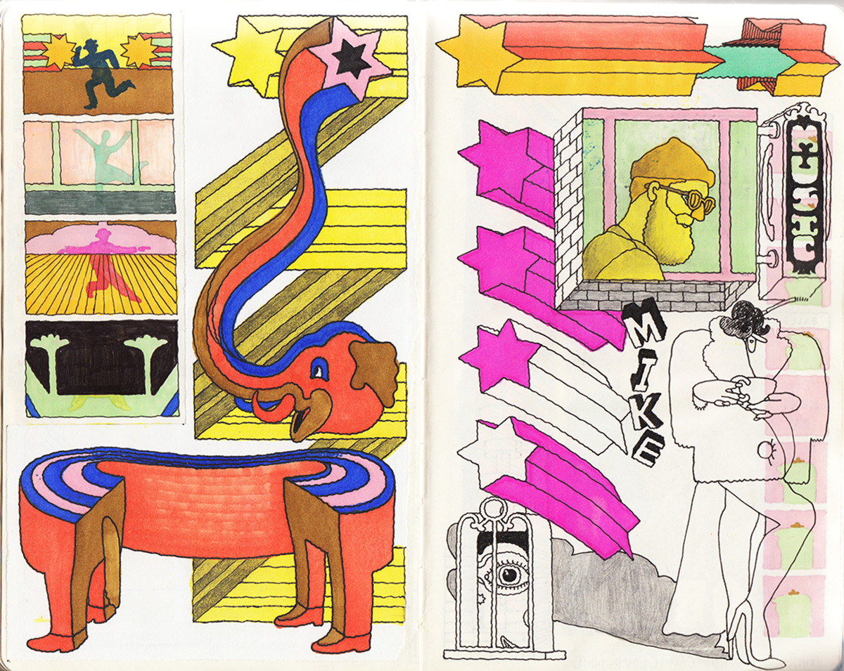 "Jim Stoten / Personal Work / Sketchbook 1<span class=""slide_numbers""><span class=""slide_number"">2</span>/19</span>"
