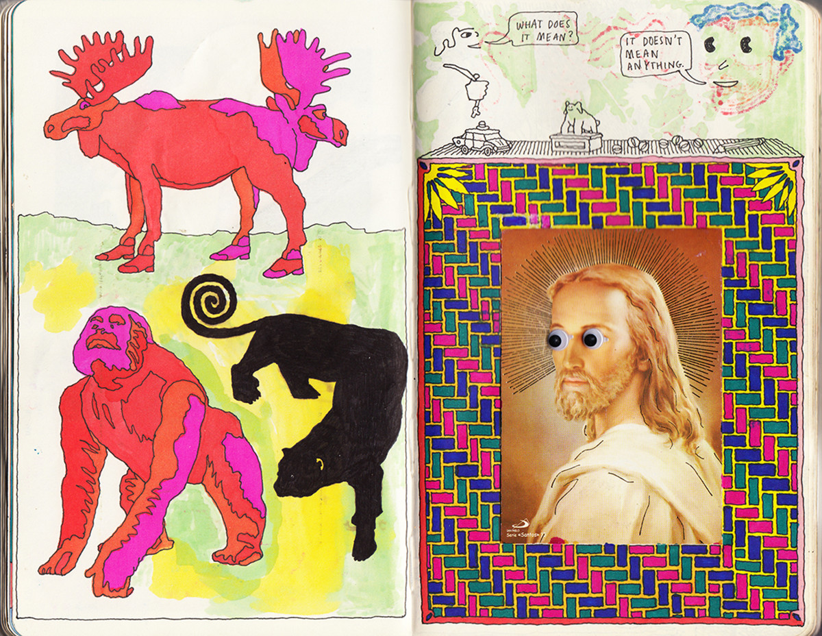 "Jim Stoten / Personal Work / Sketchbook 1<span class=""slide_numbers""><span class=""slide_number"">8</span>/19</span>"
