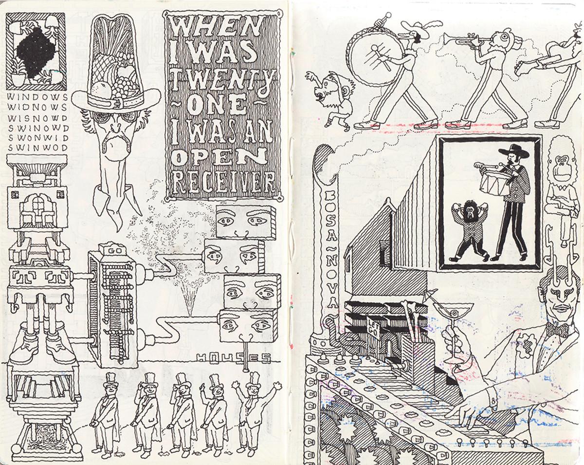 "Jim Stoten / Personal Work / Sketchbook 1<span class=""slide_numbers""><span class=""slide_number"">6</span>/19</span>"