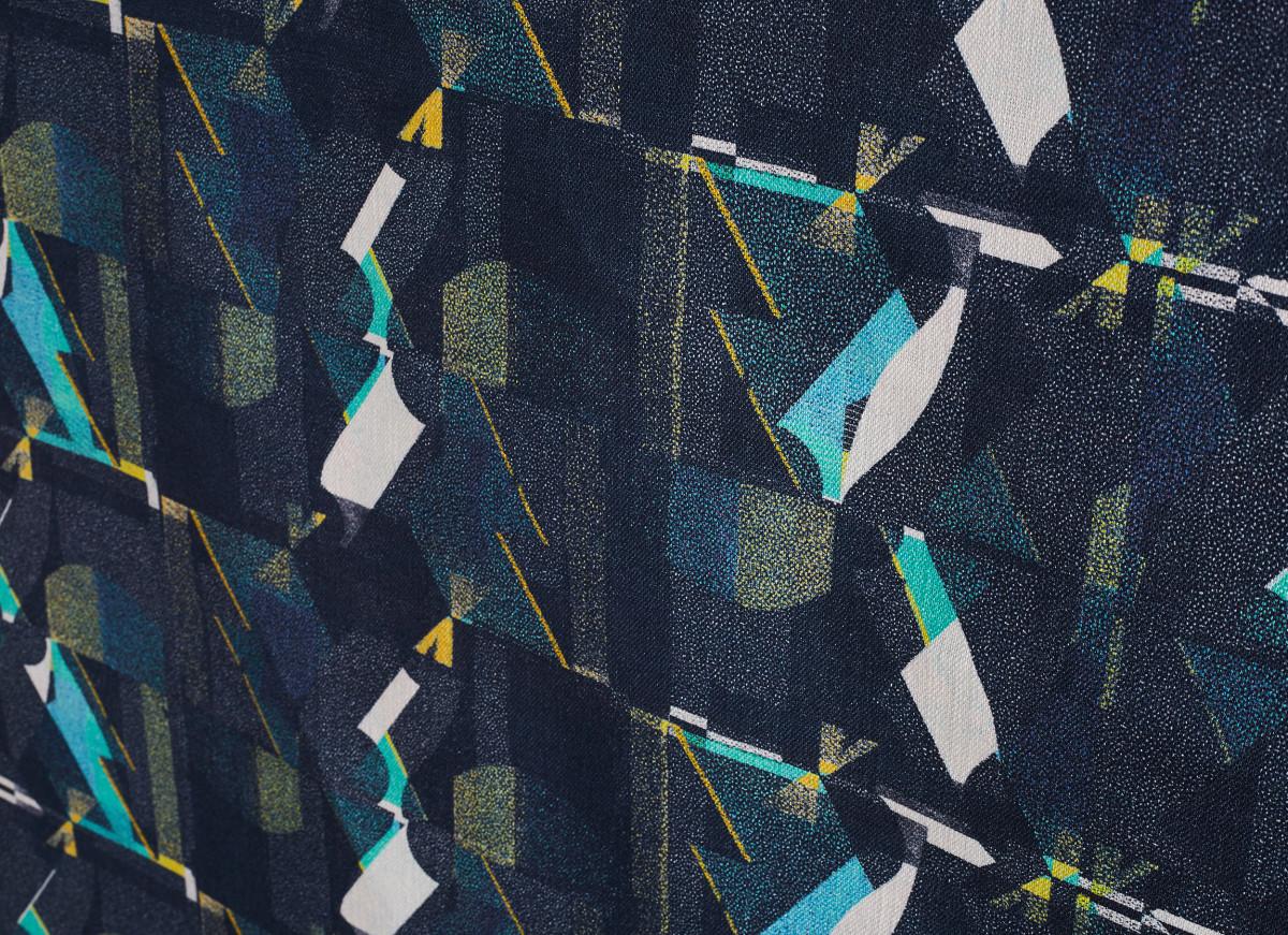 """Kate Gibb / Commercial Work / 'Flock' Textiles<span class=""""slide_numbers""""><span class=""""slide_number"""">9</span>/11</span>"""
