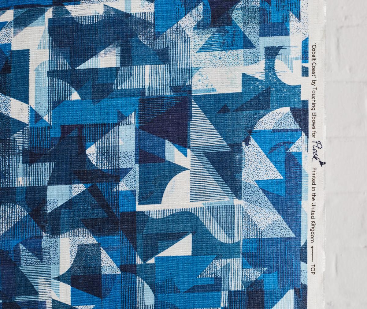 """Kate Gibb / Commercial Work / 'Flock' Textiles<span class=""""slide_numbers""""><span class=""""slide_number"""">4</span>/11</span>"""