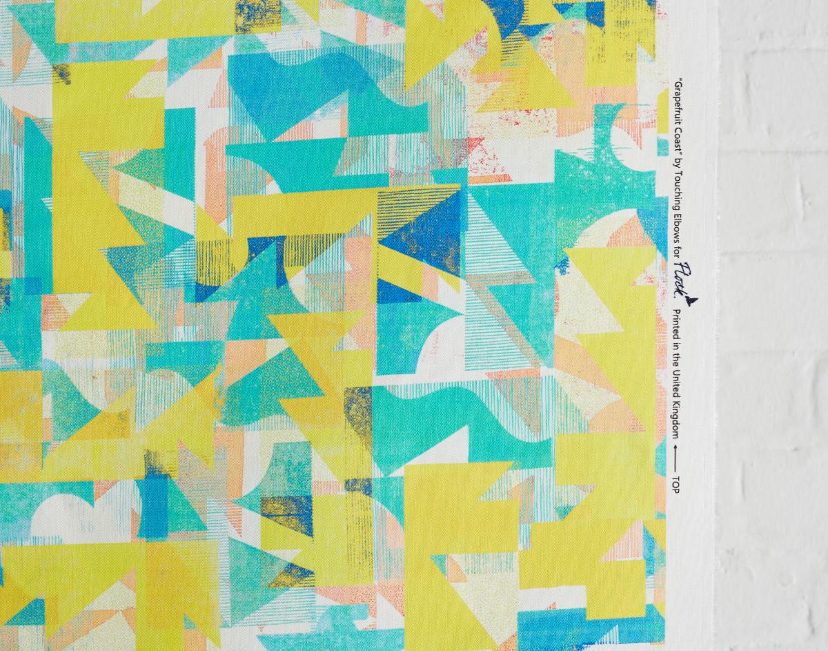 """Kate Gibb / Commercial Work / 'Flock' Textiles<span class=""""slide_numbers""""><span class=""""slide_number"""">2</span>/11</span>"""