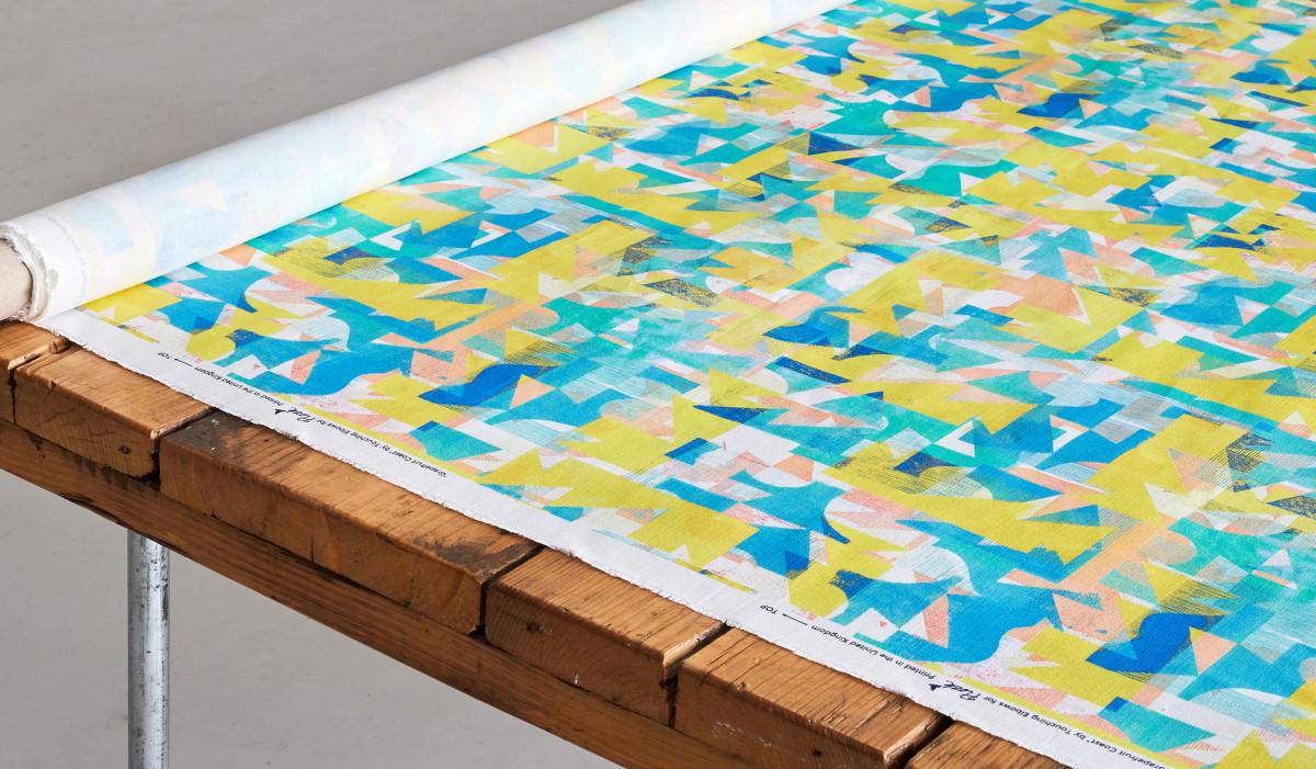"""Kate Gibb / Commercial Work / 'Flock' Textiles<span class=""""slide_numbers""""><span class=""""slide_number"""">1</span>/11</span>"""