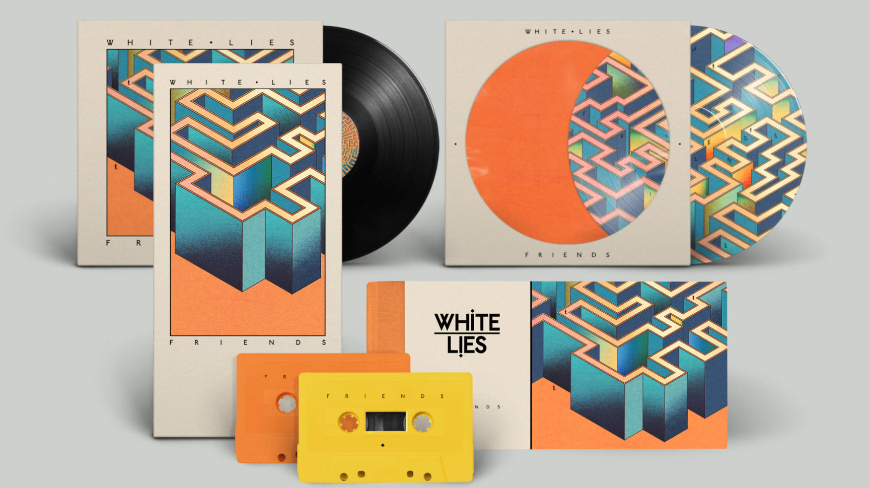 Art Direction & Design / Music<br /><strong>White Lies</strong>